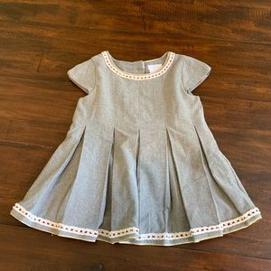 Gray Tahari Toddler Dress
